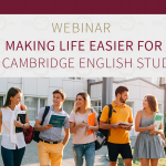 Cambridge English Exams with Swiss Exams: Making life easier for your Cambridge English students – Webinar
