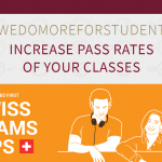 Swiss Exams #Wedomoreforstudents - increase pass rates of your classes for Cambridge English Exams