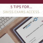 Tips for Teachers & Administrators – Swiss Exams Access